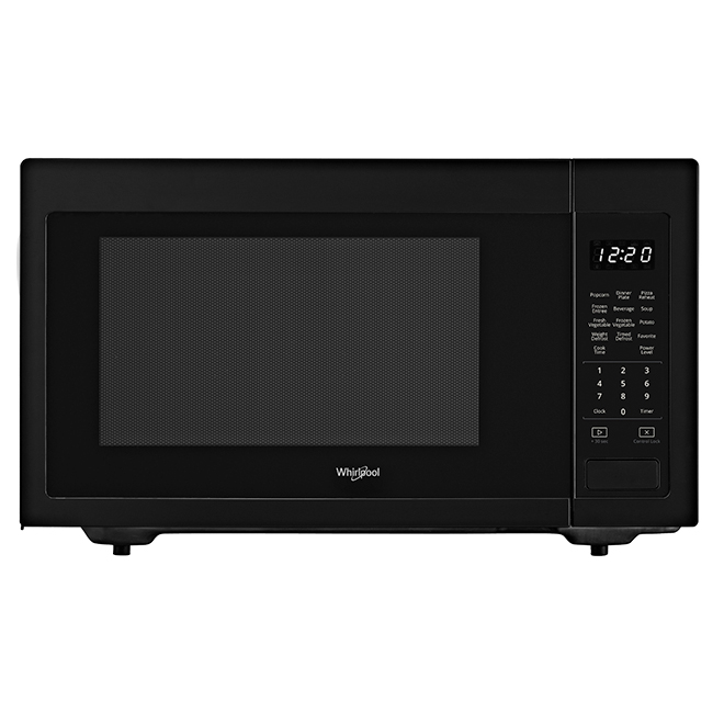 Countertop Microwave Oven - 1.6 cu. ft. - 1200 W - Black