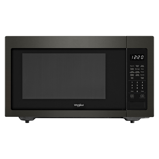 Counter Top Microwave Oven - 1.6 cu. ft. - 1200 W - Black SS