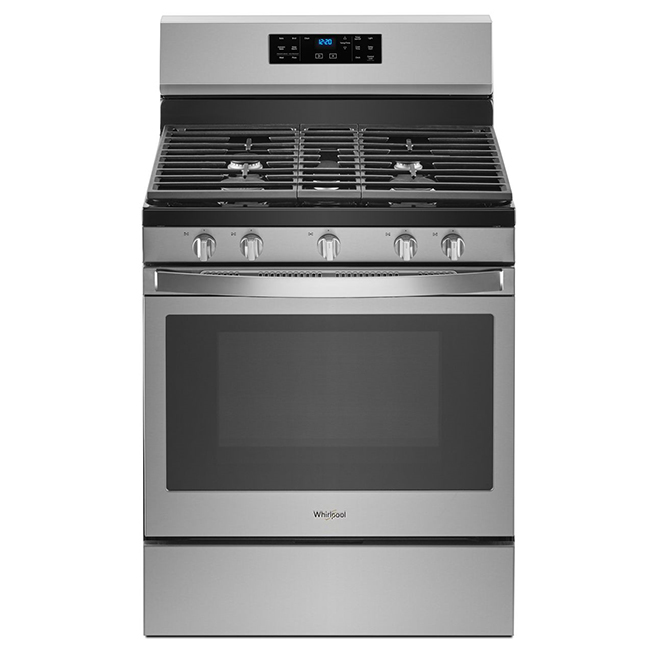 Gas Range with Fan Convection - 5 cu. ft. - Stainless Steel