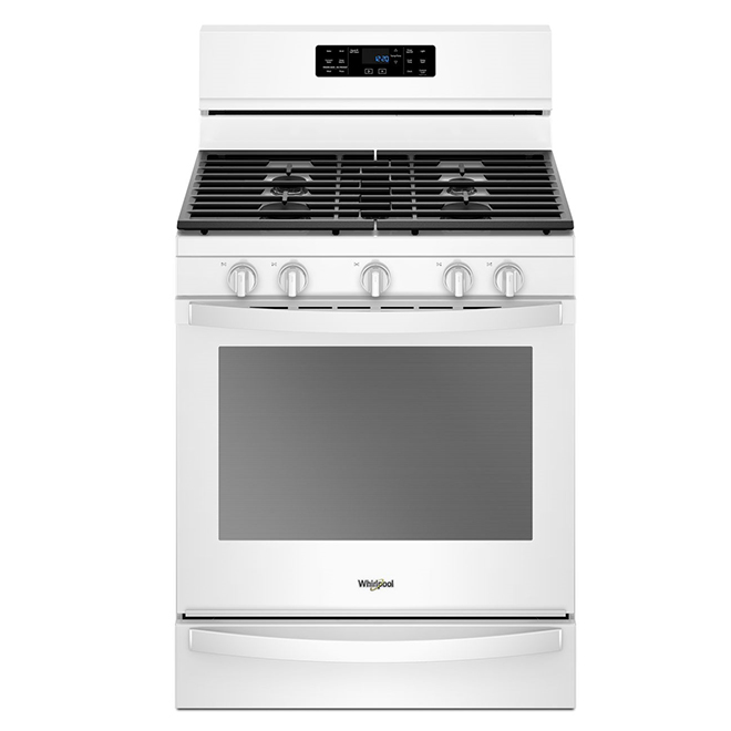 Gas Range with Fan Convection - 5.8 cu. ft. - White