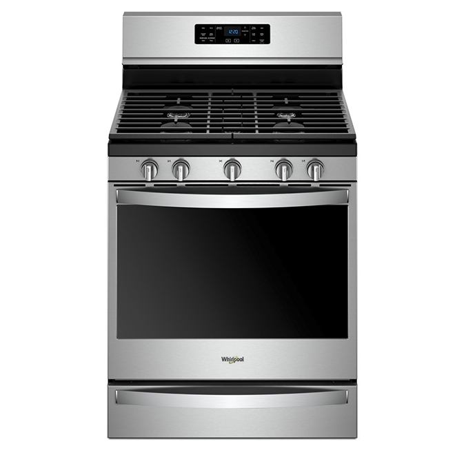 Gas Range with Fan Convection -5.8 cu. ft. - Stainless Steel