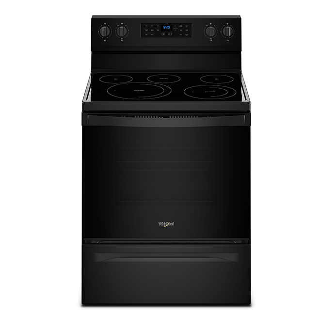 Electric Range with Fan Convection - 5.3 cu. ft. - Black