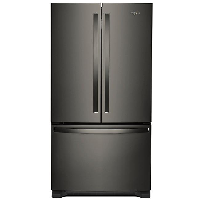 Réfrigérateur Avec Distributeur Interne 20 Pi³ Inox Noir