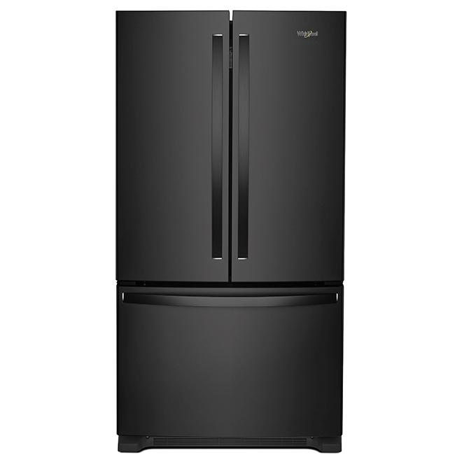 Refrigerator with Interior Dispenser - 20 cu. ft. - Black