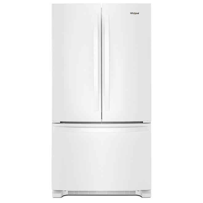 Refrigerator with Interior Dispenser - 25 cu. ft. - White