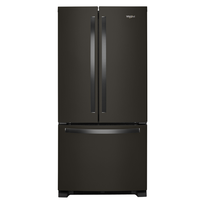 Refrigerator with Accu-Chill - 22 cu. ft. - Black Stainless