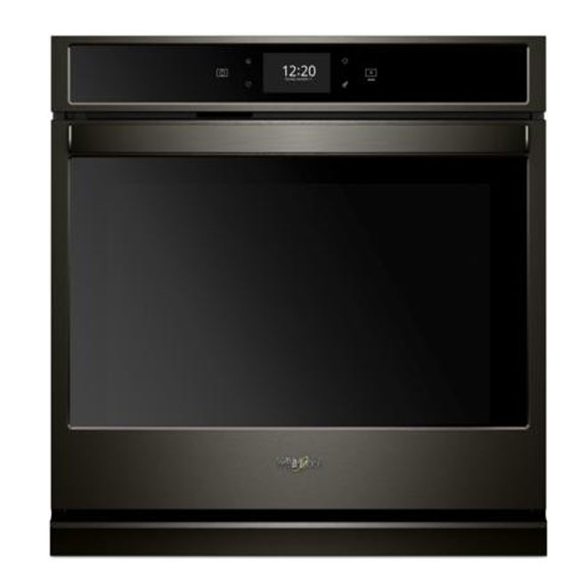 Wall Convection Smart Oven - 4.3 cu. ft. - Black Stainless
