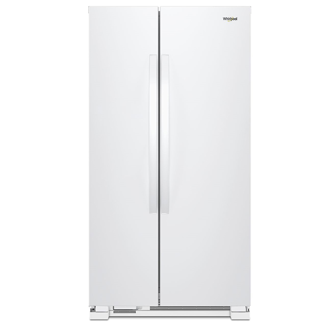 "Side by Side Refrigerator - 33"" - 22 cu. ft. - White"