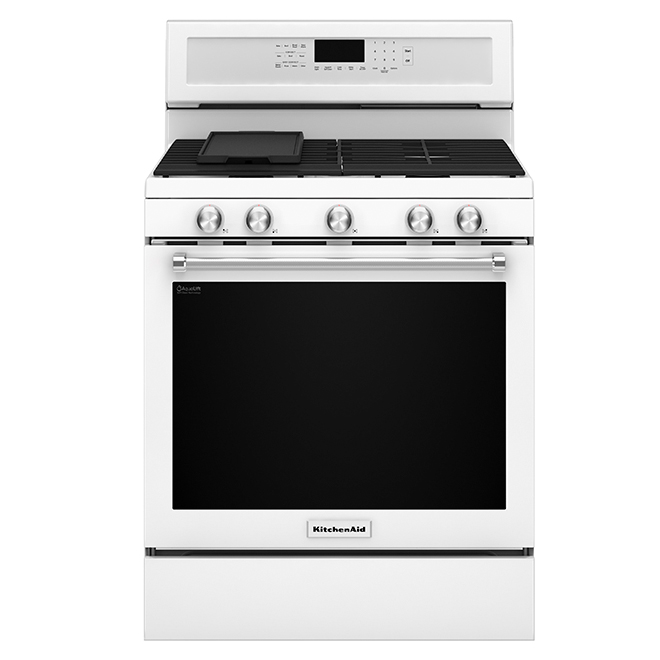 Free-Standing Gas Convection Range - 5.8 cu. ft - White