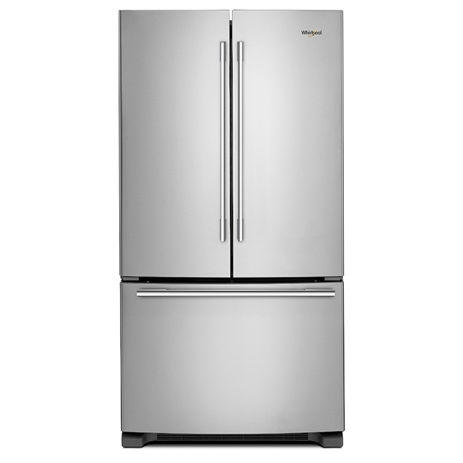 "French-Door Refrigerator -33"" - 22 cu. ft. - Stainless Steel"