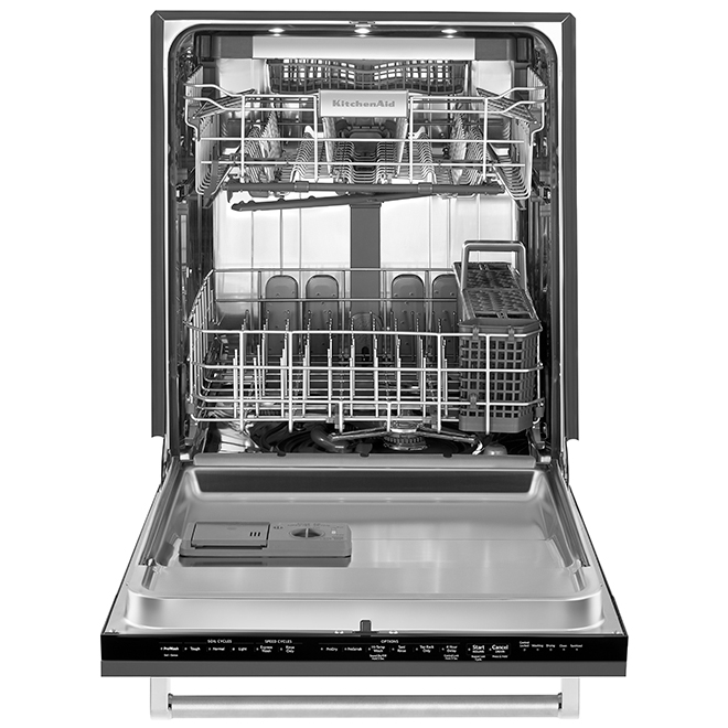 Panel-Ready Dishwasher with ProScrub and Dynamic Arms - 24""