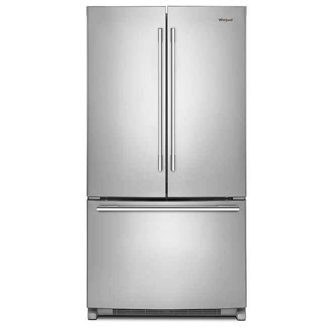 """French-Door Refrigerator -36"""" - 25 cu. ft. - Stainless Steel"""
