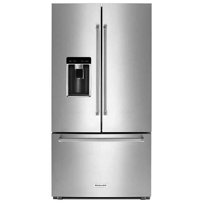 Refrigerator with Prep Zone - 23.8 cu. ft. - Stainless