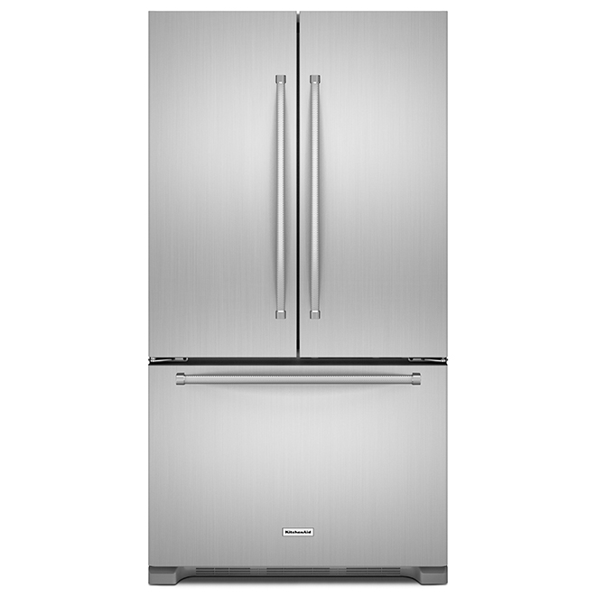 Refrigerator with Interior Dispenser - 22 cu. ft. -Stainless