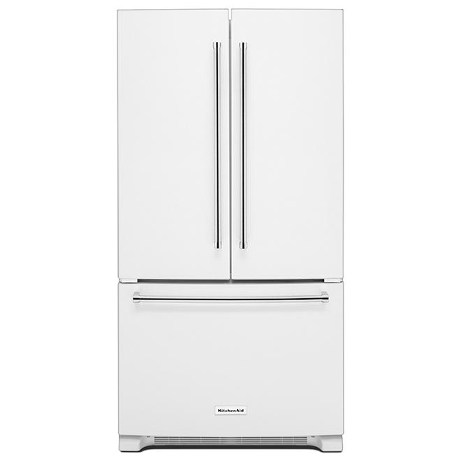 French-Door Refrigerator - 20 cu. ft. - White