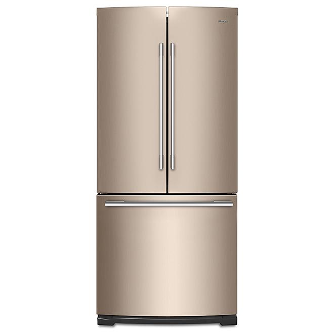 """French-Door Refrigerator -30"""" - 20 cu. ft. - Sunset Bronze"""
