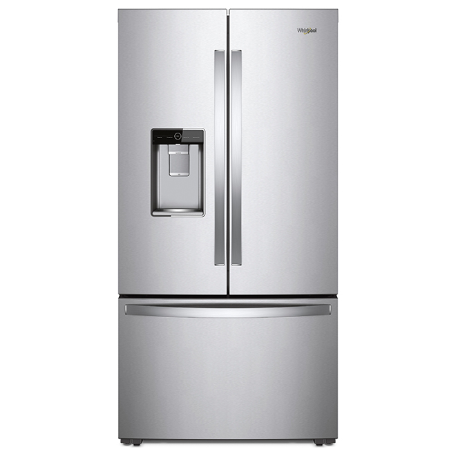 Counter-Depth Refrigerator - 24 cu. ft. - Stainless Steel