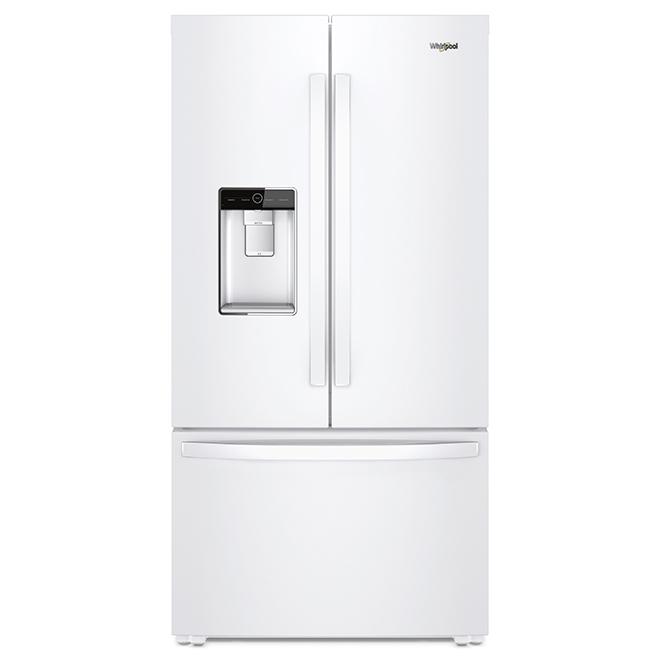 """Réfrigérateur à profondeur de comptoir, 36"""", 24 pi³, blanc"""
