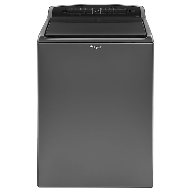 Top-Load HE Washer - 4.8 cu. ft. - Chrome Shadow
