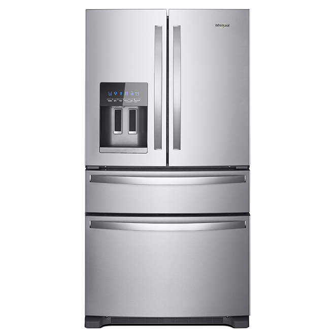 Refrigerator with Exterior Drawer - 24.5 cu. ft. - Stainless
