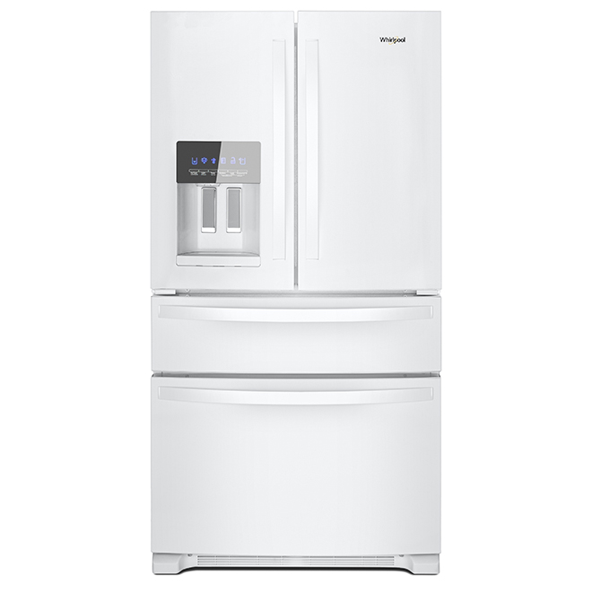 Refrigerator with Exterior Drawer - 25 cu. ft. - White