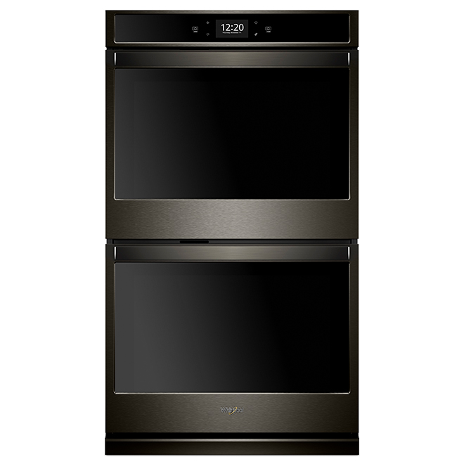 Wall Smart Double Oven - 8.6 cu. ft. - Black Stainless