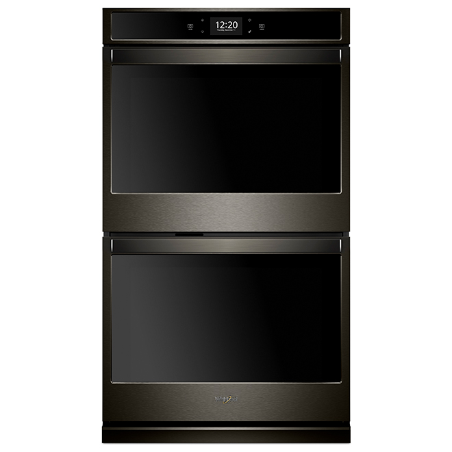 Wall Smart Double Oven - 10.0 cu. ft. - Black Stainless