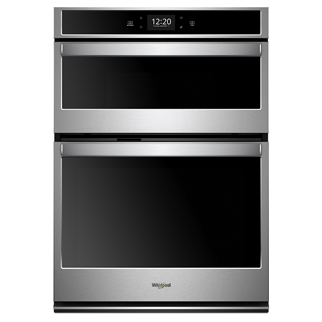 Oven/Microwave Oven Combination - 4.3 cu. ft./1.4 cu. ft. - Stainless Steel