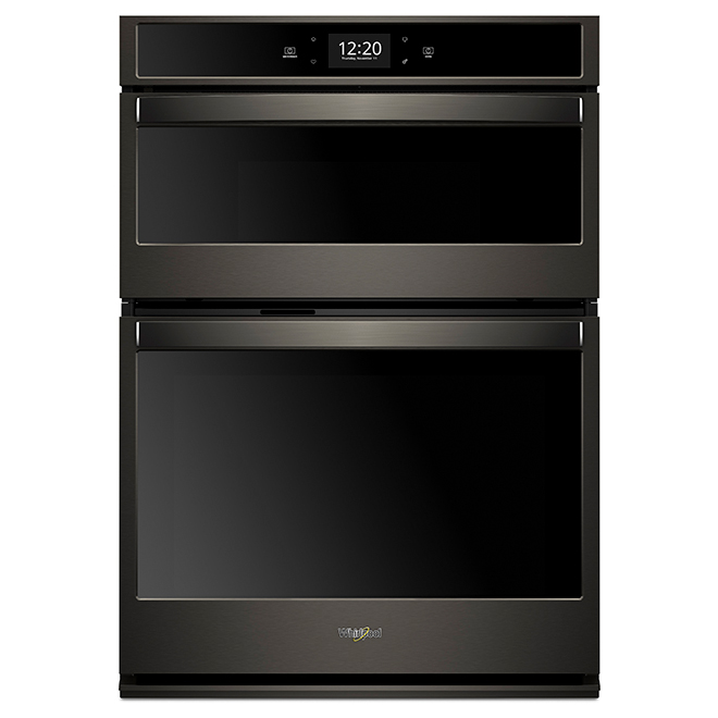 Oven/Microwave Oven Combination - 5 cu. ft./1.4 cu. ft. - Black Steel