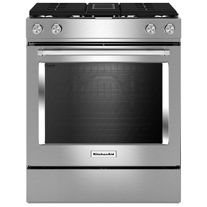 Dual-Fuel Range with Ventilation System - 6.4 cu. ft. - SS
