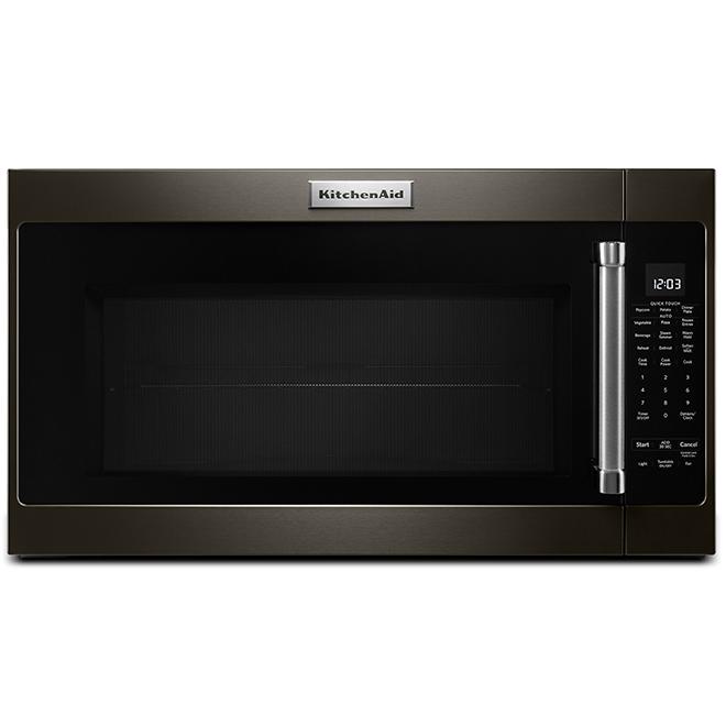 KitchenAid Over-The-Range Microwave - 2.0 cu. ft. - Black Steel