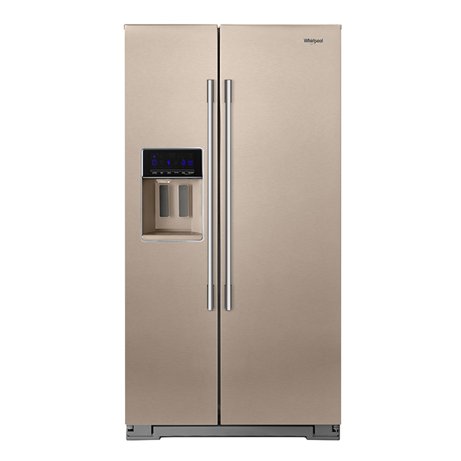 Side-By-Side Refrigerator - 28 cu. ft. - Bronze