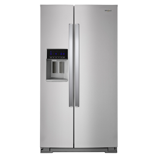Refrigerator with Water/Ice Dispenser - 28 cu. ft. - Stainless
