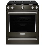 Built-In Gas Range - 5.8 cu. Ft. Black Steel