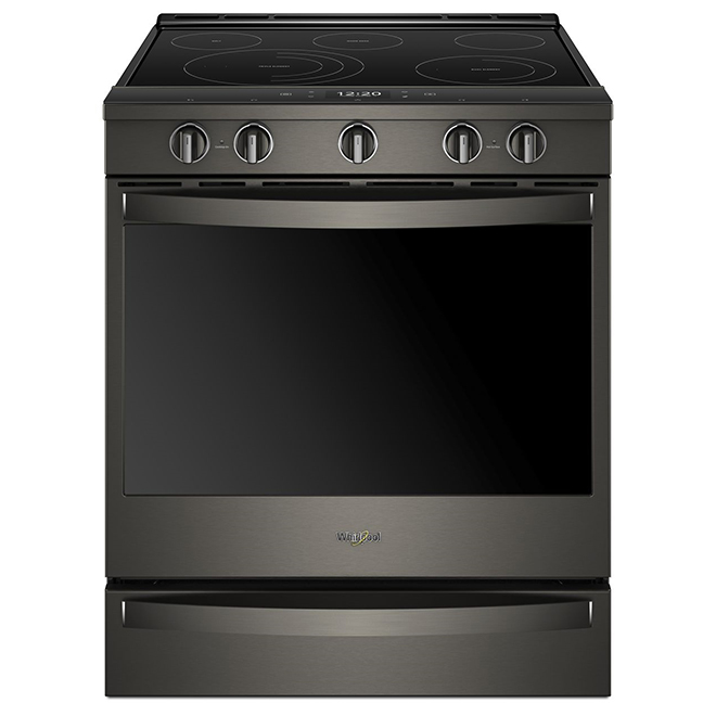 Built-In Electric Range - 6.4 cu. ft. - Black Steel