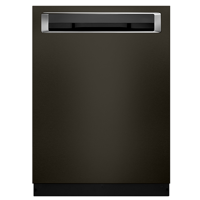"Built-In Dishwasher with ProDry™ - 24"" - Black Steel"