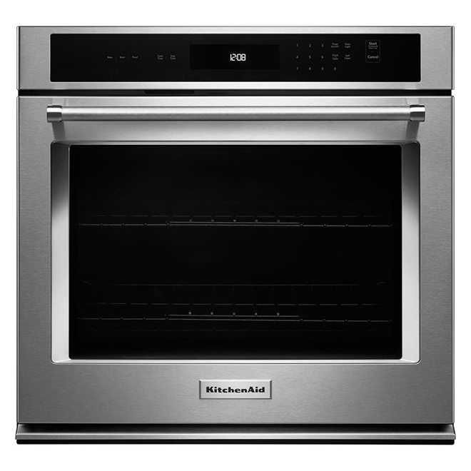 "30"" Electric Wall Oven with Even-Heat(TM) - 5.0 cu. ft. - SS"
