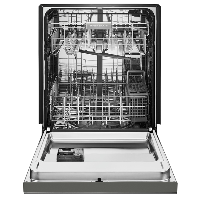 """Slide-In Dishwasher with ProWash(TM) - 24"""" - Stainless Steel"""