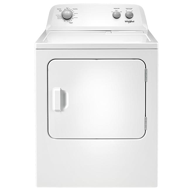 """Sécheuse électrique 7,0 pi³, 29"""", blanc"""