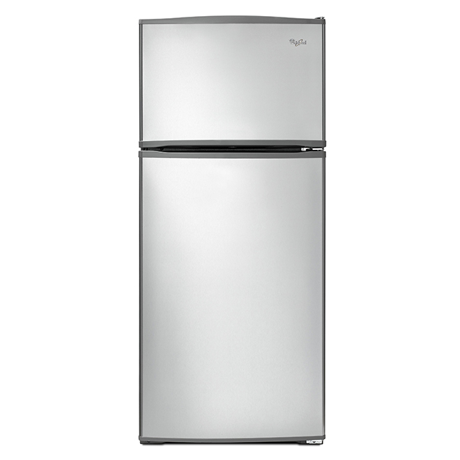 "Top-Freezer Refrigerator - 28"" - 16 cu. ft. - Stainless Steel"