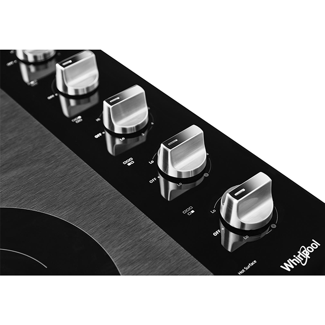 "Cooktop with FlexHeat(TM) Element - 30"" - Stainless Steel"