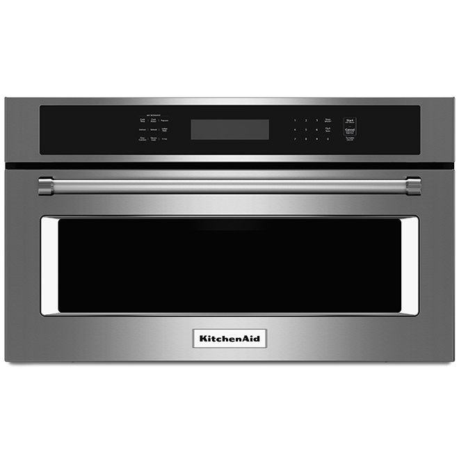 KitchenAid Microwave Oven with EasyConvect - 1.4 cu. ft. - SS