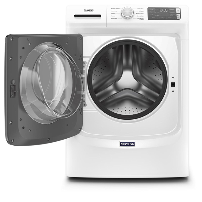 Front-Load Washer with Extra Power - 5.2 cu. ft. - White