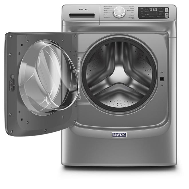 Laveuse à chargement frontal, 5,5 pi³, ardoise métallique