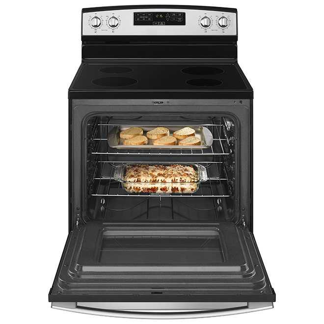 Amana® Electric Range - 30'' - Stainless Steel