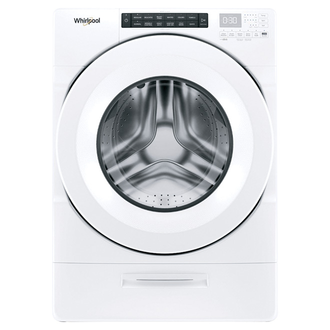 Front-Load Washer with Load & Go(TM) - 5.2 cu. ft. - White