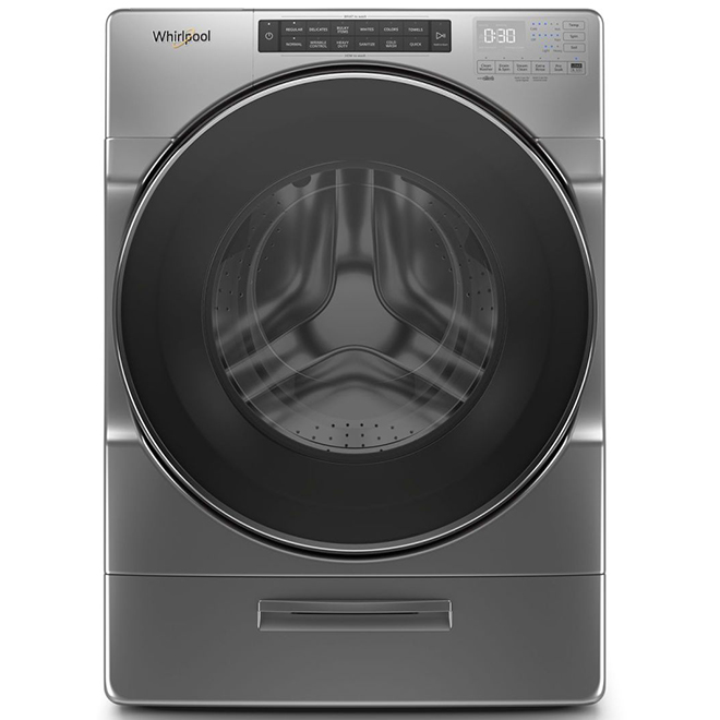 Front-Load Washer - 5.2 cu. ft. - Chrome Shadow