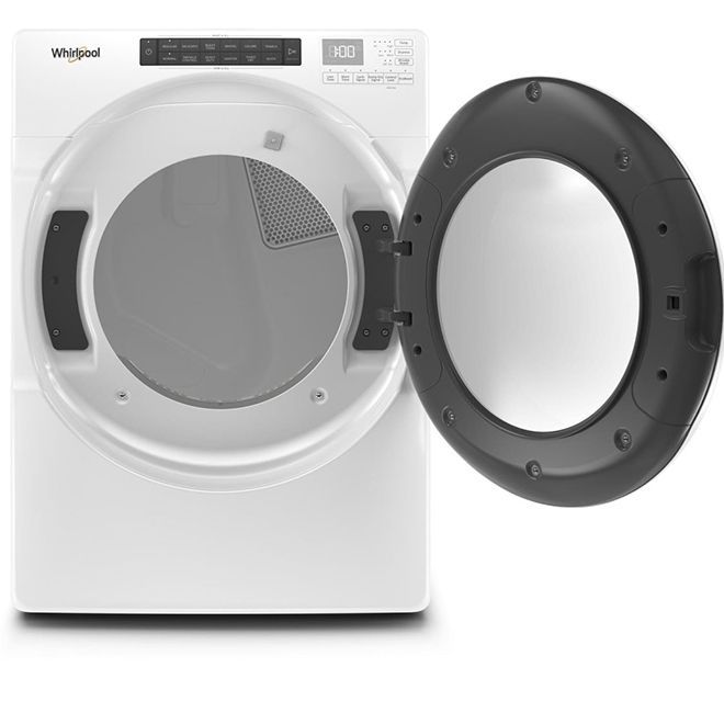 "27"" Electric Dryer with Wrinkle Shield - 7.4 cu. ft. - White"