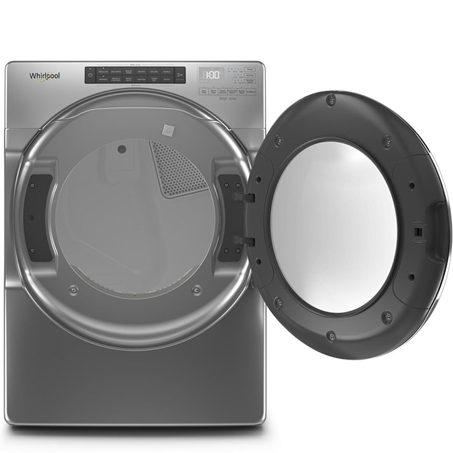 Electric Dryer with Steam Cycles - 7.4 cu. ft. - Chrome Shadow