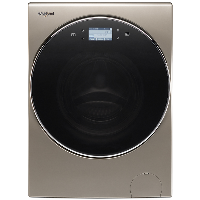 Whirlpool(TM) Front-Load Washer/Dryer - 3.2 cu. ft. - Cashmere